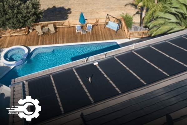 گرم کردن استخر با پنل خورشیدی